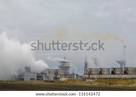 Combined operating in Romania - stock photo
