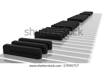 Come and play a song! - stock photo