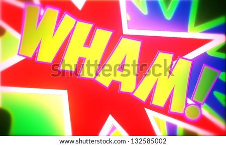 Comic Marvel Design - stock photo
