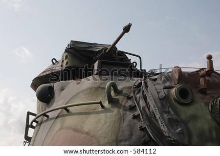 Commander's Weapon - stock photo