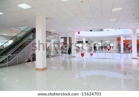 commercial center - stock photo