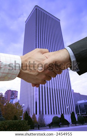 Commercial deal - stock photo