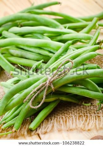 common bean - stock photo