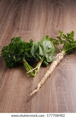 Common Sorrel and Parsley mix
