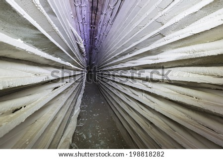 Communications Tunnel - stock photo