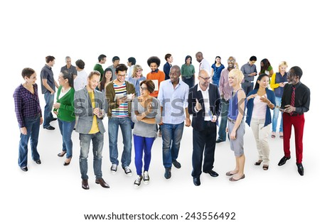 Community Casual People Communication Team Friendship Concept - stock photo