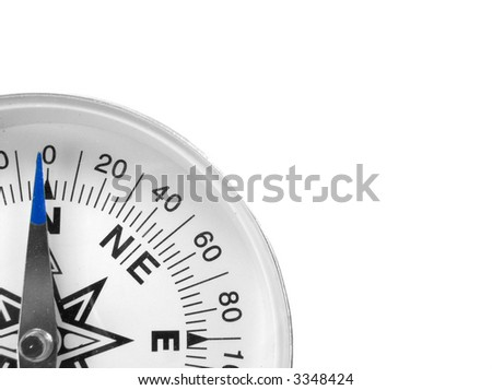 Compass Quarter - stock photo