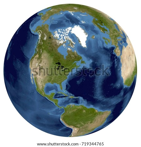Complete earth view space high resolution stock illustration complete earth view from space high resolution world map illustration in the world from space gumiabroncs Gallery