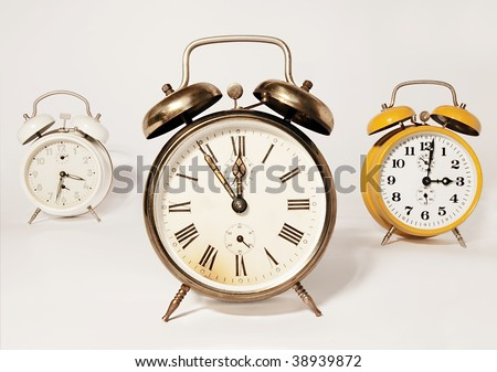 composition of three traditional alarms