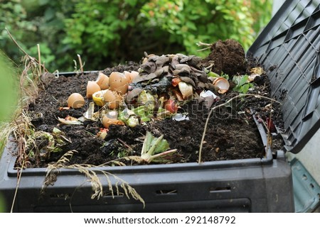 composter / composter - stock photo