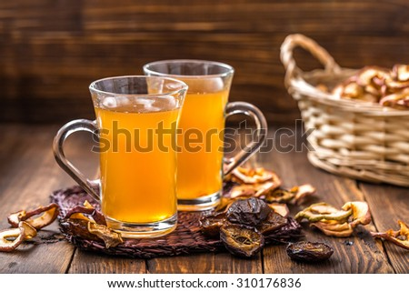 compote of dried fruits - stock photo