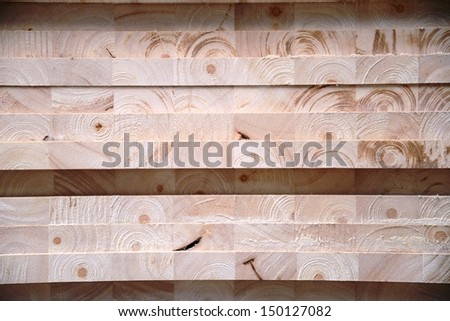 Compress sawdust into wood