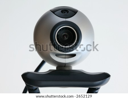 Computer cam - stock photo