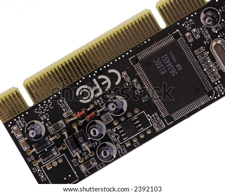 Computer Circuit Boards - stock photo