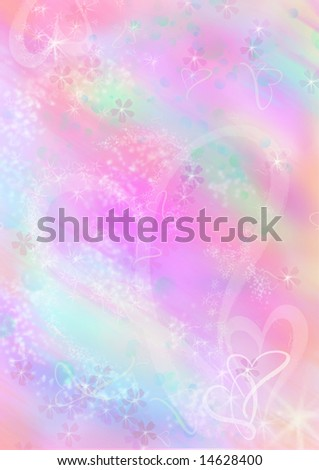 Computer designed abstract background, valentine's stationery - stock photo