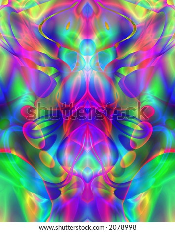 Computer designed colorful abstract background