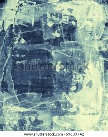 Computer designed high detailed grunge abstract textured watercolor style background - collage, with space for your text. - stock photo