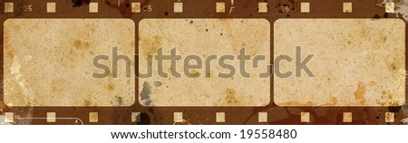 Computer designed highly detailed film frame with space for your text or image.Nice grunge element for your projects.