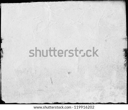 Computer designed highly detailed grunge frame  Great grunge layer for your projects. - stock photo