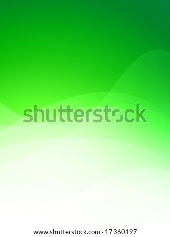 Computer designed modern green abstract style background