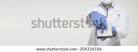 Computer Doctor - stock photo