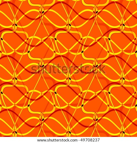 computer generated golden abstract background - stock photo