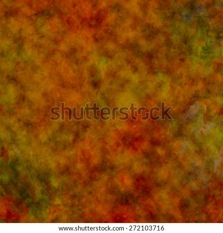 computer generated painting of background in autumn colours - stock photo