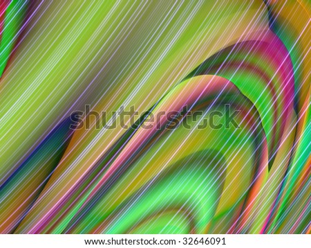 computer generated wavy abstract background