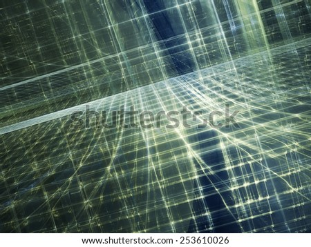 Computer graphics abstract background - stock photo