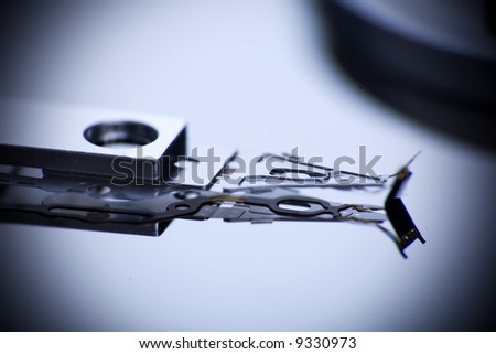 Computer harddrive - stock photo