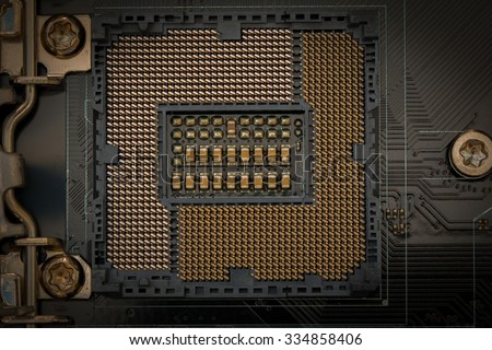 Computer Installing RAM Memory Card 2 Gb isolated on white background. - stock photo