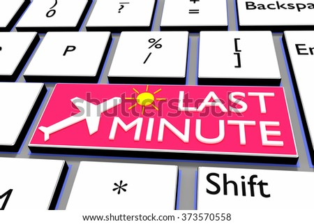 Computer Keyboard Airplane Symbol Lettering Stock Illustration