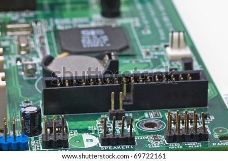 computer motherboard  circuit board