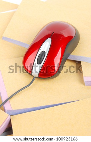 Computer mouse and document