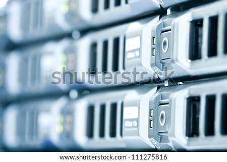 Computer server - stock photo