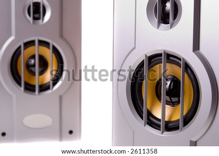 Computer Speakers Isolated