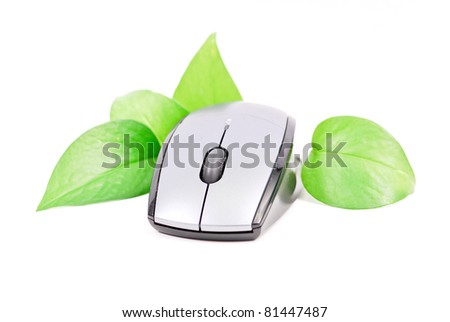 Computers Going Green - stock photo