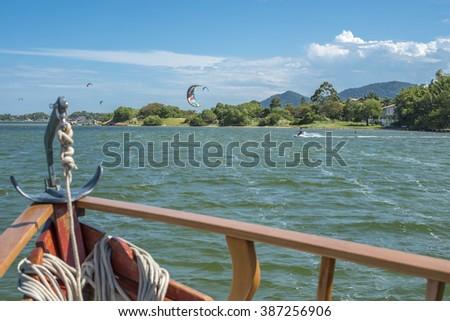 Conceicao Lake, Florianopolis - stock photo