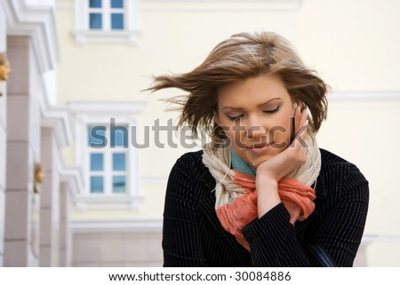 Concentration. - stock photo