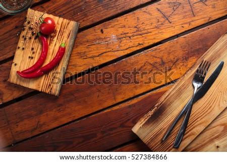 Concept Restaurant Menus Healthy Eating Homemade Stock Photo 527348836 ...