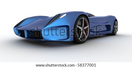 concept car (my model and rendering)