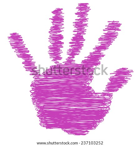 Concept conceptual pink text word cloud tagcloud as tree in man or woman hand on rainbow sky background and grass, metaphor to health, nutrition, diet, body, energy, medical, sport, heart science - stock photo