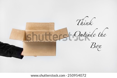 Concept image for innovative and creative thinking  - stock photo