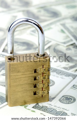 concept of accessing money bank loan - stock photo