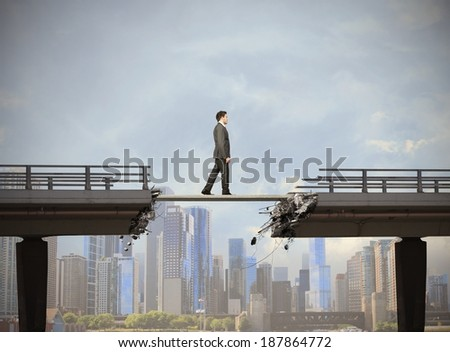 Concept of easy solution for the problem - stock photo