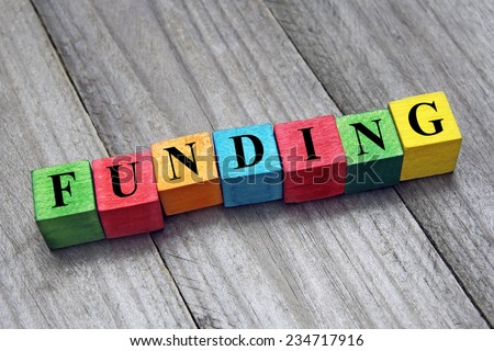 concept of funding - stock photo