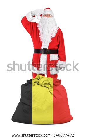 concept photo - gifts for Belgium - stock photo