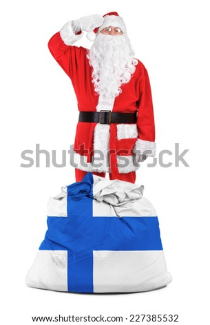 concept photo - gifts for Finland - stock photo