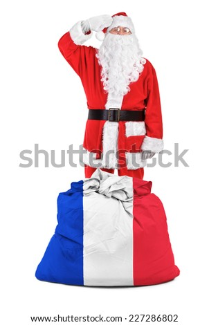concept photo - gifts for France - stock photo