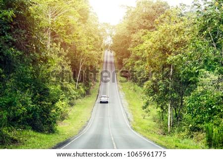 Concept Success Symbol Purpose Lifelong Journey Stock Photo